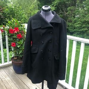 Vintage Burberry Wool Trench Coat